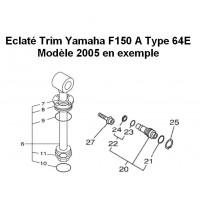 Kit Trim Yamaha F150
