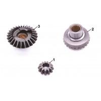 67D-45560-00 / 6E0-45551-00 / 67D-45570-00 Lower unit gear Yamaha F4 to F6